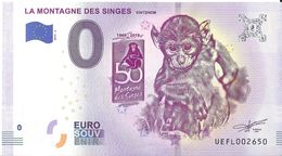 BS-26 - KINTZHEIM - La Montagne Des Singes (50 Ans De La Montagne Des Singes) 2019-4 - EURO