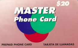 USA - Master By RSL Com Prepaid Card $20, Used - Etats-Unis