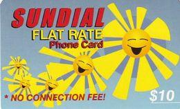 USA - Sundial Prepaid Card $10, Used - Etats-Unis
