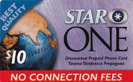 USA - Star One By Smartalk Prepaid Card $10, Used - Etats-Unis