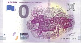 BS-27 - MONTIGNAC - Grottes De Lascaux (Le Taureau Trident) 2019-6 - EURO