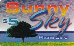 USA - Sunny Sky By IMT Prepaid Card $5, Used - Etats-Unis