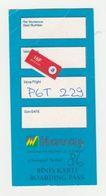 Instapkaart-boarding Pass Havas Türkiye - Boarding Passes