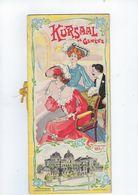 Document Commercial Musique   Suisse  Kursaal  De Geneve Annee 1905 - Switzerland
