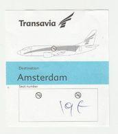 Instapkaart-boarding Pass Transavia Amsterdam - Boarding Passes