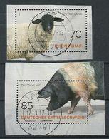 ALEMANIA 2016 - MI 3261/62 - Nutztierrassen - Used Stamps