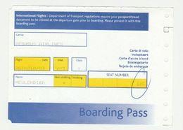 Instapkaart-boarding Pass Pegasus Airlines Türkiye - Boarding Passes
