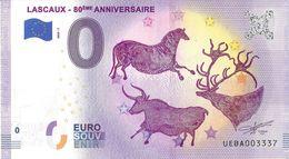 BS-11 - MONTIGNAC - Grottes De Lascaux (80ème Anniversaire) 2020-7 - EURO