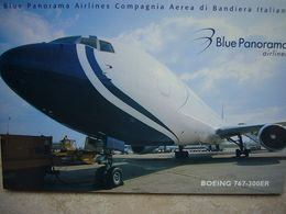 Avion / Airplane / BLUE PANORAMA / Boeing B 767-300ER / Airline Issue - 1946-....: Ere Moderne