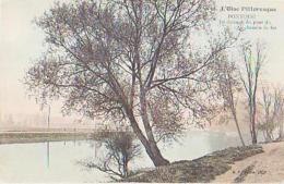 0ise        596        Pontoise.En Dessous Du Pont Du Chemin De Fer - Francia
