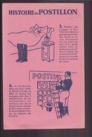 """Buvard ( 21 X 13.5 Cm ) """" Histoire Du Postillon """" - Vloeipapier"""