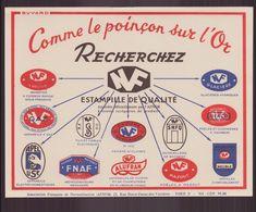 """Buvard ( 21 X 16 Cm ) """" Recherchez NF Estampille De Qualité """" - Buvards, Protège-cahiers Illustrés"""