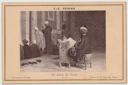 Orientaliste La Lecture Du Coran Jean Louis Gerome Photographe Goupil & Cie Paris - Arte Orientale