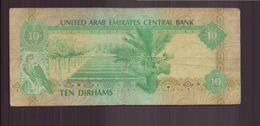 Emirats Arabes Unis, Billet De 10 Dirhams - United Arab Emirates