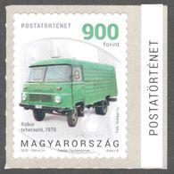 Van Truck ROBUR DDR Germany 1970  / MNH Not Used - Hungary 2020 - Post History  - Label Vignette - Self Adhesive - LKW