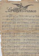 Document  Musique La Delivrance  A Jeanne D'arc Liberatrice Par  Marcel Lautent - Non Classés