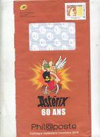 Pap Sabine Catalogue Phil@poste Theme Asterix + Enveloppe Reponse T - Prêts-à-poster:  Autres (1995-...)