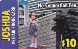 USA - Joshua By WorldXchange/CTS Telcom Prepaid Card $10, Exp.date 31/12/02, Used - Etats-Unis