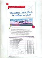 Page Catalogue Phil@poste Theme Concorde - Livres, BD, Revues
