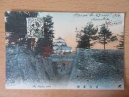 Japon / Japan - The Nagoya Castle - Carte Couleur Circulée Depuis Hanoï En 1910 - Nagoya