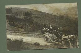 CARTE POSTALE PHOTO AUTOMOBILE CLUB D AUVERGNE COUPE D AUVERGNE SEPTEMBRE 1906 - Motorsport
