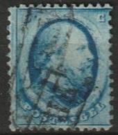 1864 Koning Willem III 5 Ct. Haarlemse Druk  NVPH 4 Gestempeld - Gebraucht