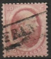1864 Koning Willem III 10 Ct.  NVPH 5 Haarlemse Druk - Gebraucht