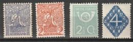 1923 Diverse Voorstellingen NVPH 110-113 MNH** Postfris - Ongebruikt