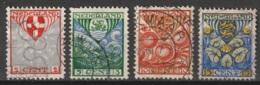 1926 Kind NVPH 199-202  Cancelled/gestempeld - Usados