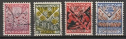 1927 Kind  NVPH 208-211 Complete. Gestempeld/ Cancelled - Usados
