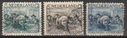 1930 Rembrandt NVPH 229-231 -  Cancelled/gestempeld - Oblitérés
