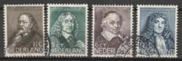 1937 Zomer NVPH 296-299 Gestempeld/ Cancelled - Oblitérés