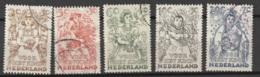 1949 Kind NVPH 544-548 Gestempeld/ Cancelled - Usados