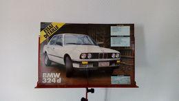 Coupure De Presse De 1985 BMW 324 D - Voitures