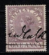 Government Of India - One Anna - India (...-1947)