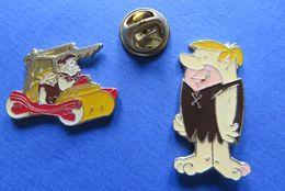 2 Pin's,LES PIERREAFEU,THE FLINTSTONES - BD