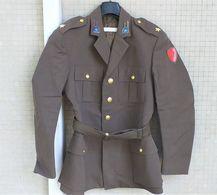Giacca M48 Sottotenente Trasmissioni 104° Btg. Predil E.I. Anni '70/80 Ottima - Uniforms