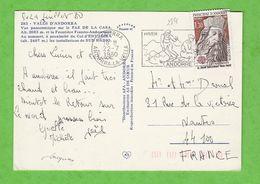 ANDORRE N° 284 EUROPA SUR CARTE POSTALE PAS DE LA CASE - Lettres & Documents