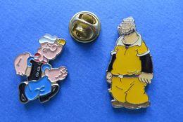 2 Pin's,BD,POPEYE - Cómics