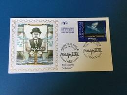 N°3145 (Magritte) Sur FDC De Paris 18/04/1998 - 1990-1999