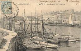 5983DunkerqueQuai De La Visite - Cale Des PêcheursN° 34 Circulée 1905 - Dunkerque