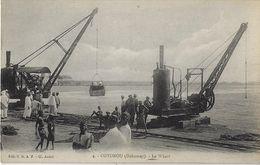 COTONOU  (Dahomey).   -   Le Wharf - Dahomey