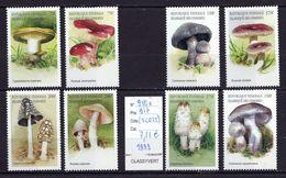 Comores  8 Timbres  ** TTB N° 910 à 917 Champignon  Mushroom Cogumelo Setas - Hongos