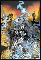 Fantaisie Erotique BD COMICS Erotic Fantasy  LADY DEATH Science Fiction Sexe Diable Demon Jarretelles Devil Suspenders - Trading Cards