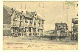 A1333[Postkaart] La Panne. - Le Square Bonzel (Albert Sugg, Excelsior) [de Villa Gai Soleil Mon Plaisir Nos Vacances] - De Panne