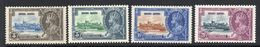 Hong Kong 1935 GV Silver Jubilee Stamp Set. Mounted Mint. - Great Britain (former Colonies & Protectorates)