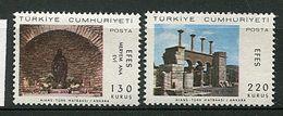 Turquie * N° 1841/1842 - Visite Du Pape Paul VI à Ephese - 1921-... Republic