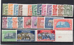 !!! PRIX FIXE : INDOCHINE, SÉRIE N°123/146 NEUVE ** - Unused Stamps