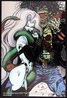 Fantaisie Erotique BD COMICS Erotic Fantasy  LADY DEATH Science Fiction Sexe Diable Demon Jarretelles Devil SNAKE - Trading Cards