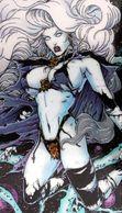 Fantaisie Erotique BD COMICS Erotic Fantasy  LADY DEATH Science Fiction Sexe Diable Demon Jarretelles Devil Woman - Trading Cards